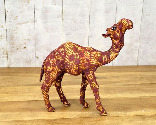 Lace Standing Camel 33cm